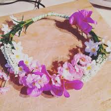 My Khloes flower crown X theses were so easy thanks to Pinterest.