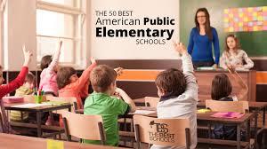 50 best american public elementary s