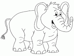 free coloring sheets elephant coloring