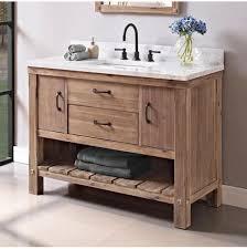 Open Shelf Vanity Bathroom Fairmont Designs Canada Bathroom Vanities Napa The Water Closet