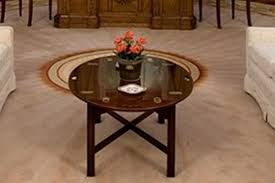 oval office table. President Reagan Oval Office Coffee Table O
