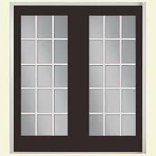 french doors exterior. 60 In. X 80 Willow Wood Prehung Left-Hand Inswing 15 French Doors Exterior A