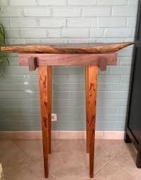 custom made hawaiian koa live edge table