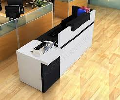 office counter desk. Modern Wood Half Round Glass Top Reception Desk Sz Rt007 Buy Cozy Design Office Counter