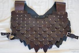 Leather Armor Patterns Gorgeous Leather Scale Armor Klemen