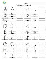 Printable Alphabet Writing Practice Sheets More Free Printables Alphabet Writing Alphabet Writing