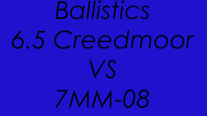 6 5 Creedmoor Vs 300 Win Mag Ballistics Chart 6 5 Creedmoor Vs 7mm 08 Ballistics Compared