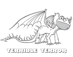 Small Picture How To Train Your Dragon Coloring Page Picture Coloring Page 10384
