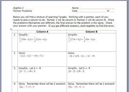standard form equation worksheet worksheets