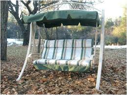 porch swing cushion a inviting best patio with canopy images on replacement cushions back replacement cushion for swing patio