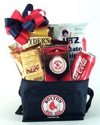 boston red sox gametime treats tote gifty baskets and flowers of hanover pacustom gift baskets shipped or delivered locally
