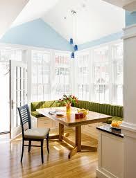 breakfast nook cosy kitchen