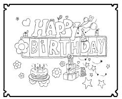 Kleurplaat Kpop Pertaining To Happy Birthday Kleurplaat Beste