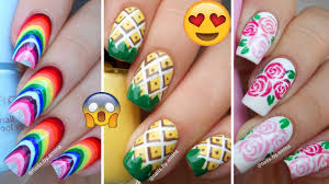 Top 10 Easy And Beautiful Nail Art Tutorial Compilation Videos ...