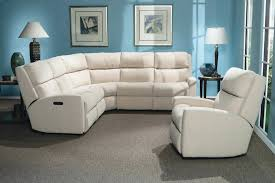 leather power reclining sectional pulaski dunhill