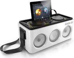 Philips has announced a DJ M1X-DJ sound system with support for iOS-devices