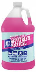 Rv Antifreeze Dilution Chart Pg Antifreeze