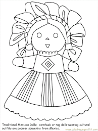 Small Picture Mexican Flower Coloring Pages Coloring Pages
