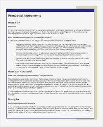 Sample Prenup Sample Prenuptial Agreement California Indiansocial