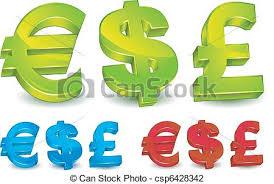 Money Symbols Currency Symbol Of The Us Dollar Uk Pound Sterling