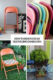 renovating old furniture. How To Renovate An Old Folding Chair: 11 DIYs Renovating Furniture