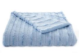 Blue Blankets And Throws