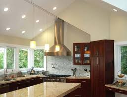 vaulted kitchen ceiling lighting. Brilliant Kitchen Captivating Lighting For Kitchen Ceilings Vaulted With  Stunning Cathedral Ceiling In  Intended Vaulted Kitchen Ceiling Lighting V