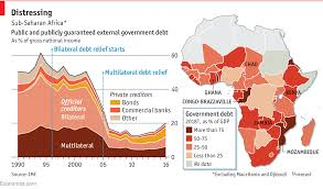Daily Chart Debt Is Creeping Back Up In Sub Saharan Africa