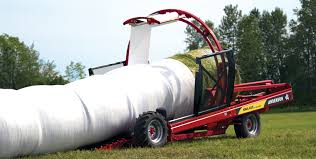 Image result for inline bale wrapping