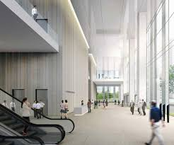 office lobby designs. design competition for daishin securities new headquarters building in collaboration with bu0026a office lobbylobby lobby designs r