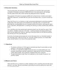 Writing Executive Summary Template Startup Business Executive Summary Template Format Writing Sample