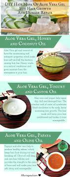 top 3 diy hair mask of aloe vera gel for hair growth and damage repair