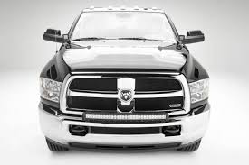 2018 Dodge Ram 1500 Light Bar 2010 2019 Ram 2500 3500 Front Bumper Top Led Bracket To Mount 1 30 Inch Led Light Bar Pn Z324522