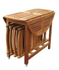 folding dining table folding wooden outdoor dining table