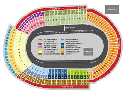 Indianapolis Motor Speedway Seating Chart 22 Organized Bristol Seating View