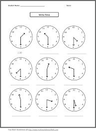 telling time quarter past worksheets