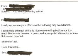 greatest employment rejection letters ever social talent the following sound harsh