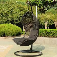 outdoor hanging furniture. Black-hanging-chair-for-outdoors Outdoor Hanging Furniture