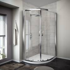 Delighful Curved Shower Enclosures Uk Turin Offset Quadrant Enclosure With Design