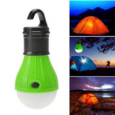 Waterproof Portable Outdoor Hanging Tent Camping Led Light Lamp