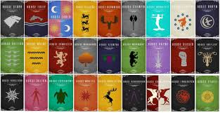Game Of Thrones House Sigils And Words Imgur
