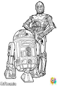 Small Picture R2 D2 y C 3PO coloring page