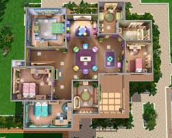 sims house plans sims 3 mansion floor plan houses on sims for sims 3 family home
