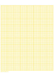 Printable 10 Squares Per Inch Yellow Graph Paper For A4 Paper