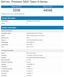Amd Processors Chart Intel I9 10920x 12 Core Benchmark Leaked Crushes Amds