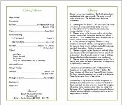 funeral pamphlet sample funeral program memorial booklet samples funeral programs