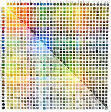 Watercolor Palette Chart Watercolor Color Chart John Muir Laws