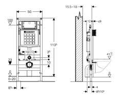 geberit concealed cisterns and flush