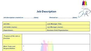 Microsoft Job Description All About Job Description Template Microsoft Word Templates Www