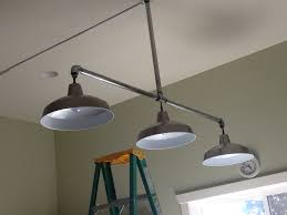 industrial track lighting systems. Innovative Galvanized Pipe Lighting New Lights Hubby Made For Craft Room From Lowes Home Design: Noted Industrial Track Systems